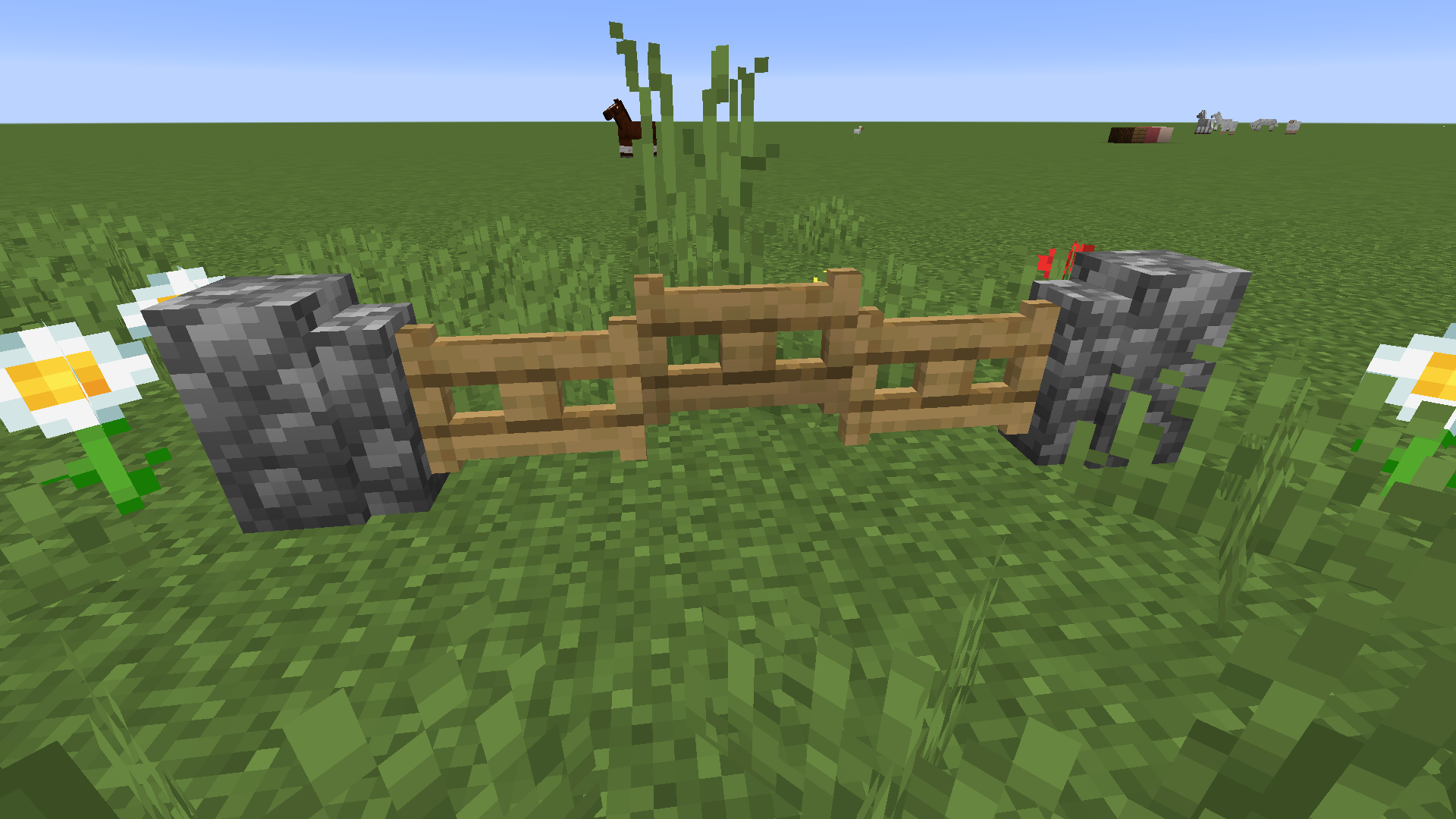 If you place a fence gate next to a wall you get a really nice wavy pattern  : DetailCraft | Fence gate, Minecraft, Fence design