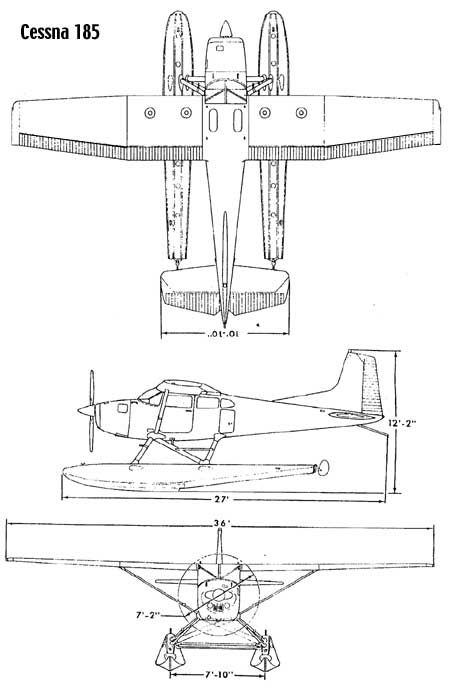 Cessna 185 on floats | Aircrafts | Pinterest | Airplanes, Aircraft ...