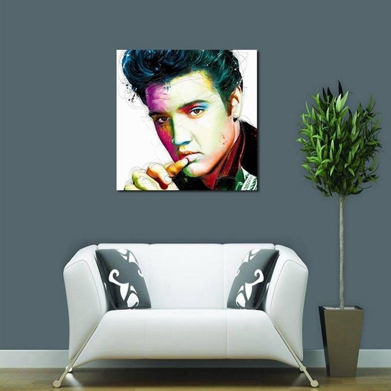 Art Oil Painting Print On Canvas Home Decor Elvis