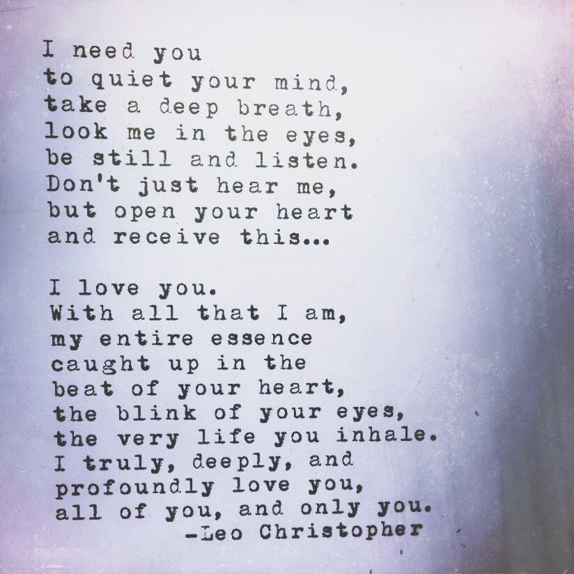 Caught Up Leo Christopher Leo Christopher Love Quotes Life