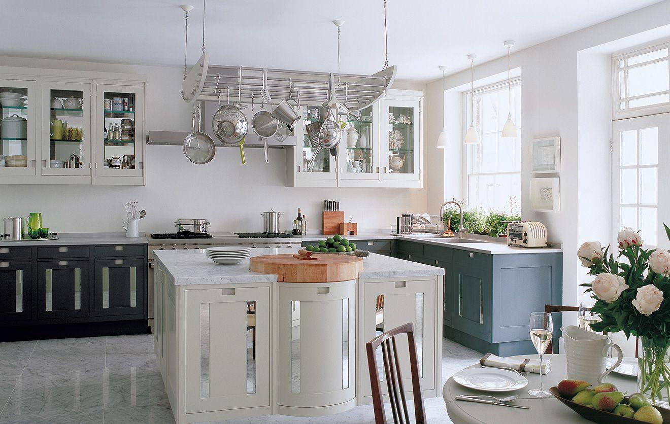 Pin By Irene M On Home Decor Smallbone Kitchens Luxury Kitchens Marble Floor Kitchen