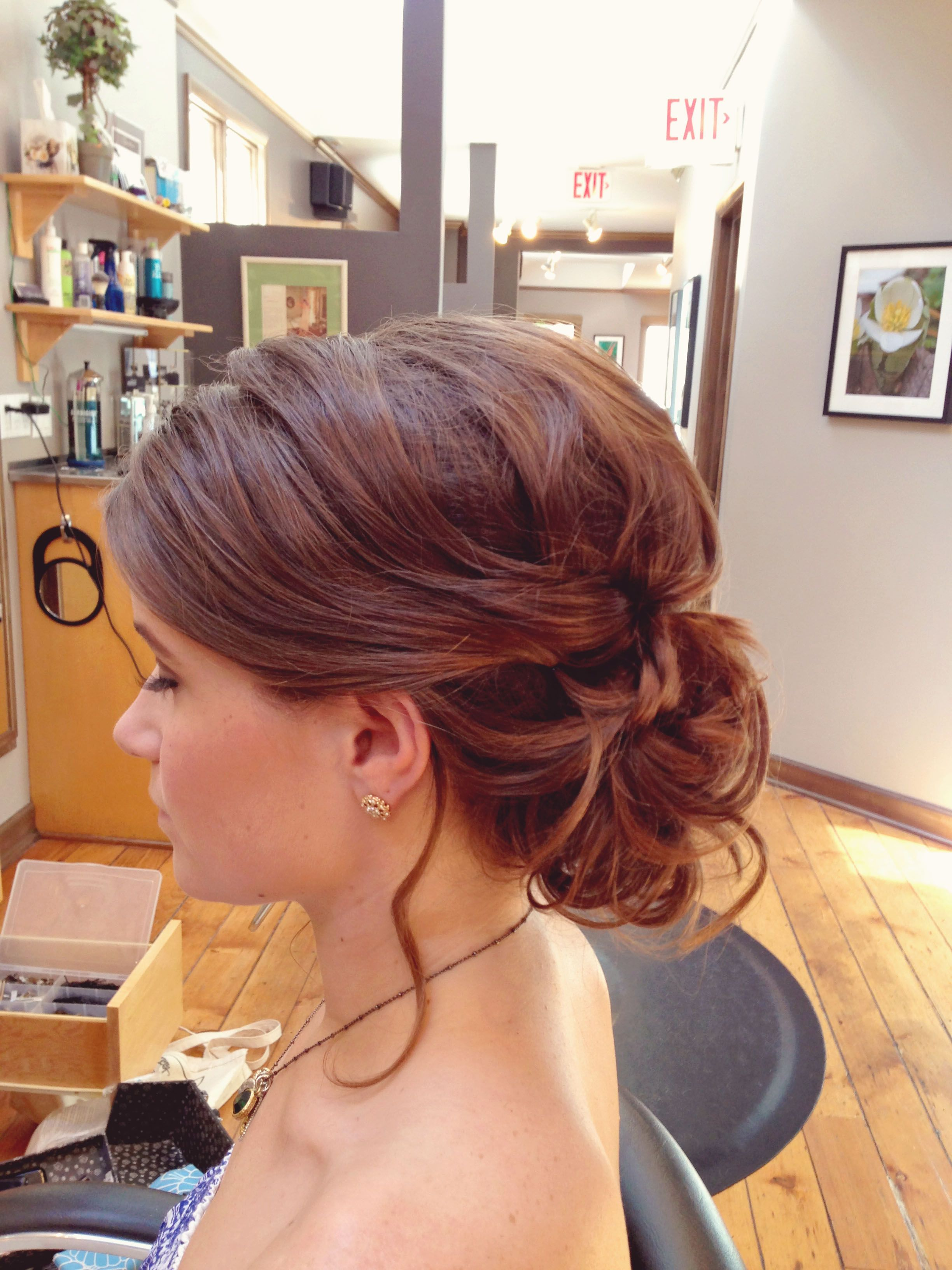 Jennytaylor wedding hair and makeup in chicago lovely locks