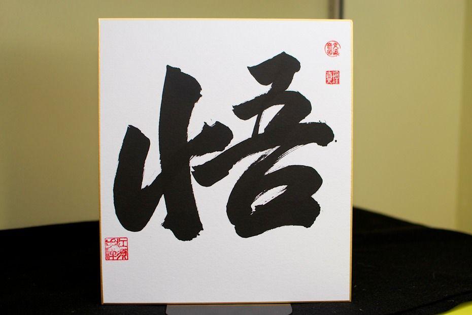 Zen calligraphy enlightenment ink tracks