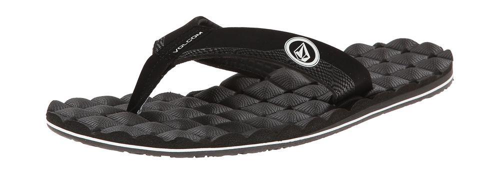 dbd493ffbdcb6 Volcom Mens Recliner Sandal Flip Flop Black White 10 M US  fashion  clothing   shoes  accessories  mensshoes  sandals (ebay link)