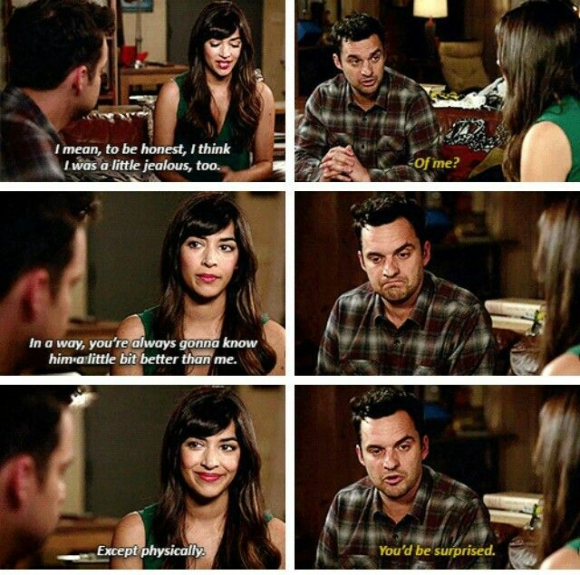 """""""You're always gonna know him a little bit better than me"""" - Cece and Nick #NewGirl"""
