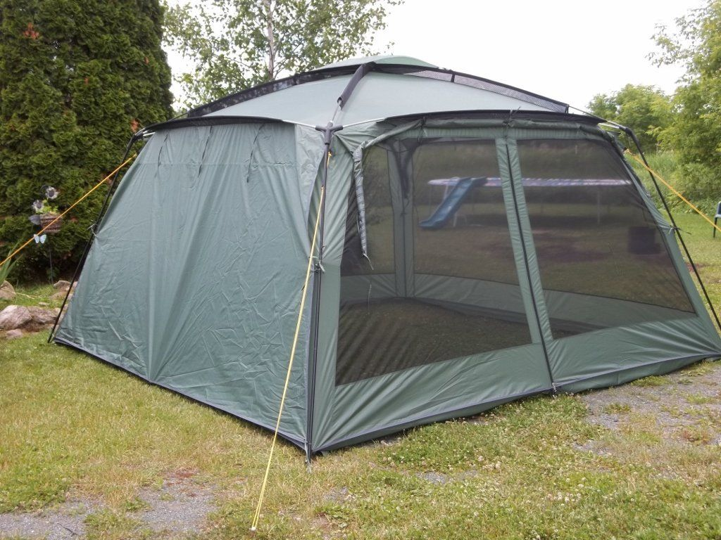 New Yanes Kuche Kitchen Tent 12 X 12 X 7 6 With Rain Panels Screen House Dining Shelter Tent Camping Shelters Amazon Canada Zelten