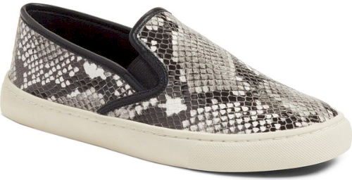 661831ee9c Tory Burch Max Slip-On Sneaker in Black. A classic skater silhouette makes  this streamlined sneaker an effortless go-to style choice.