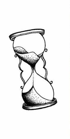 simple hourglass drawing art photography pinte Hourglass Theme simple hourglass drawing more
