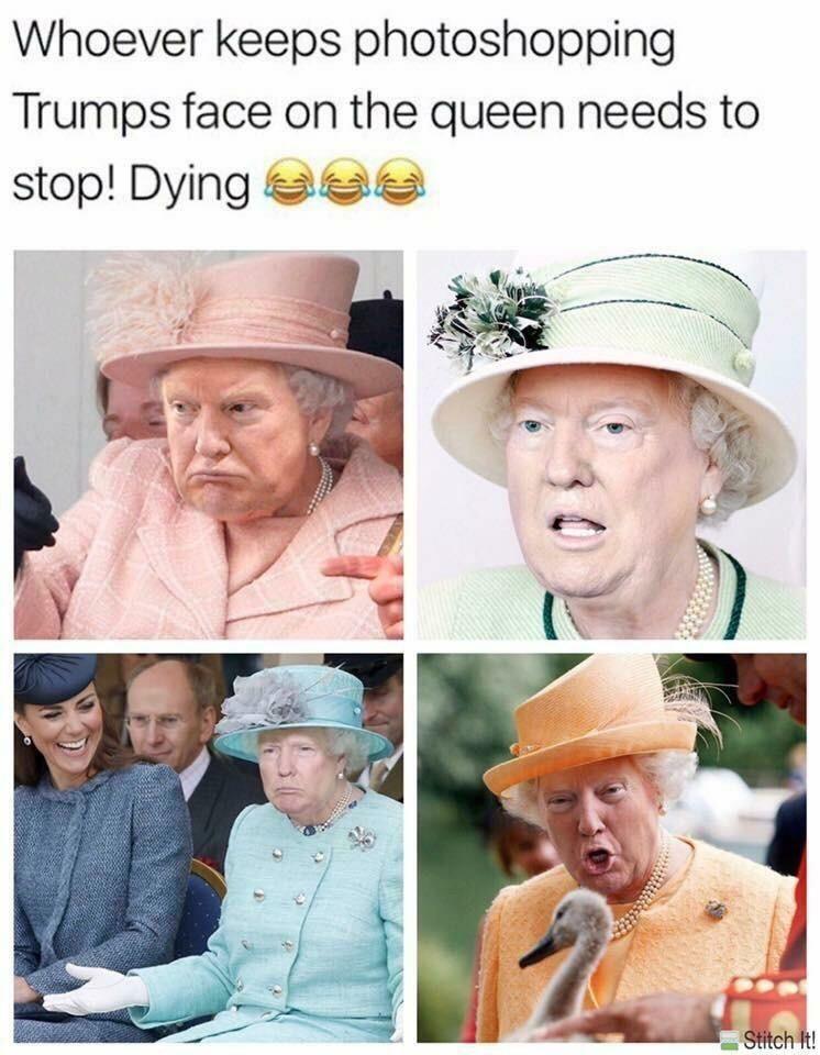 Montage photo qui Trump   Blagues hilarantes, Humour drole ...
