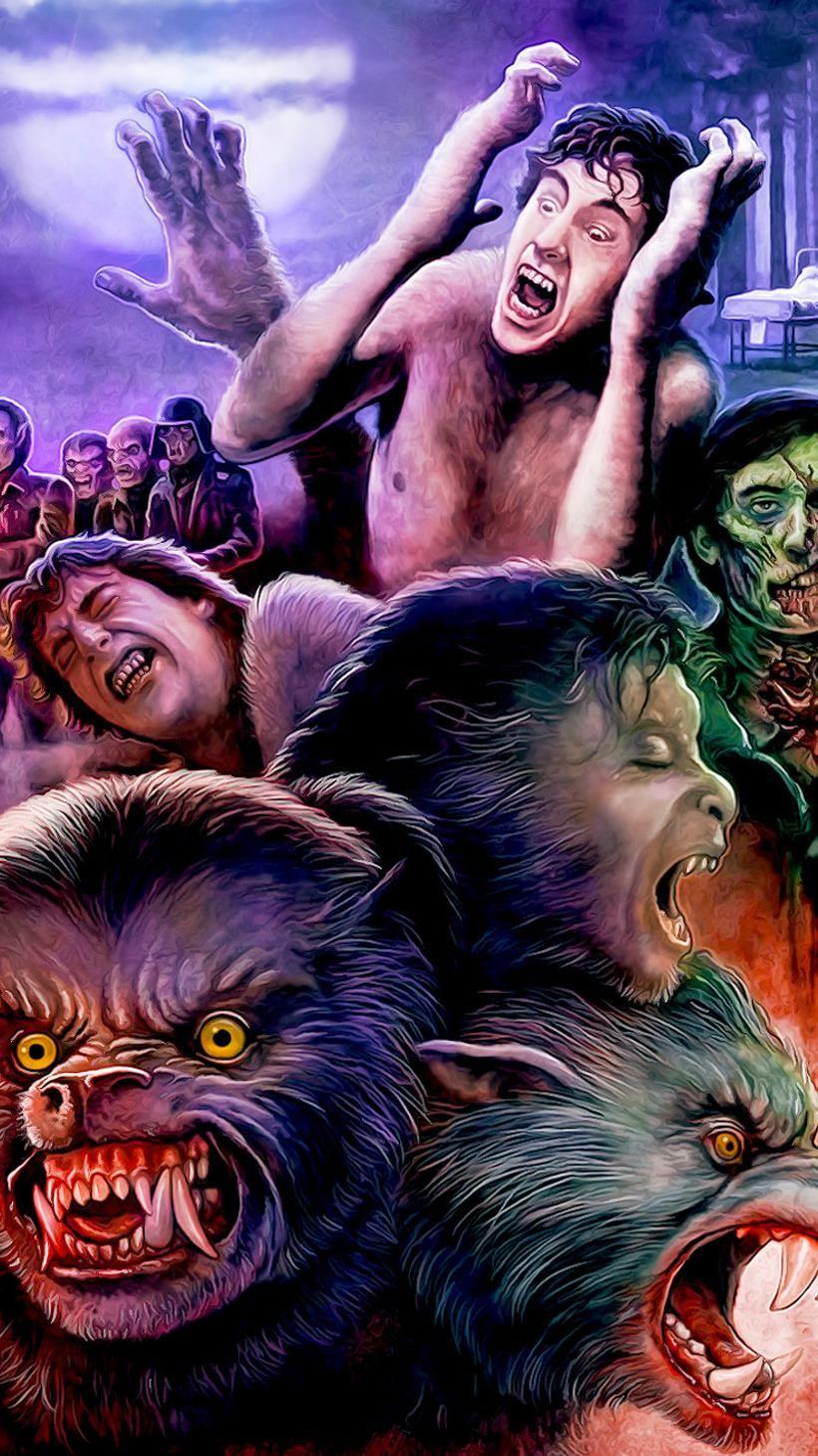 An American Werewolf In London 1981 Phone Wallpaper In 2020