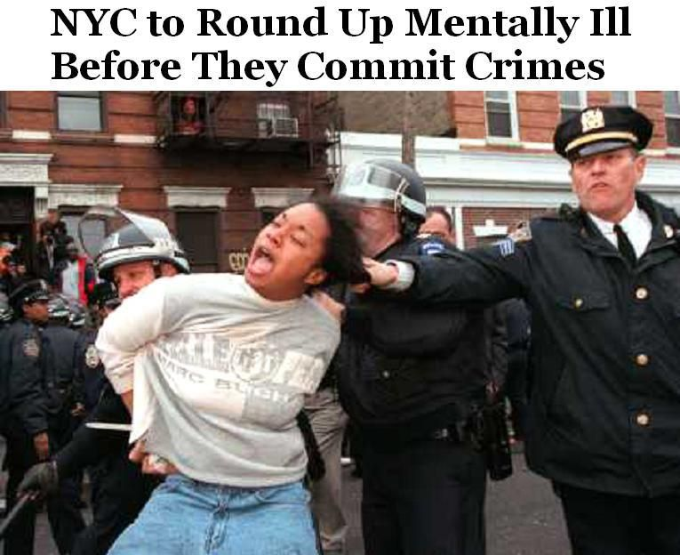 NY Abandons 4th Amendment - NYC to Round Up Mentally Ill ...