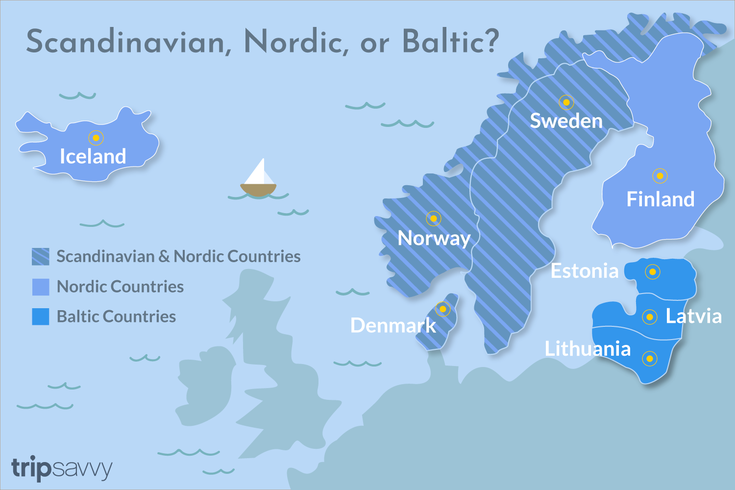 Scandinavian Or Nordic A Handy Guide To Proper Use Of The Terms Scandinavian Scandinavian Countries Nordic