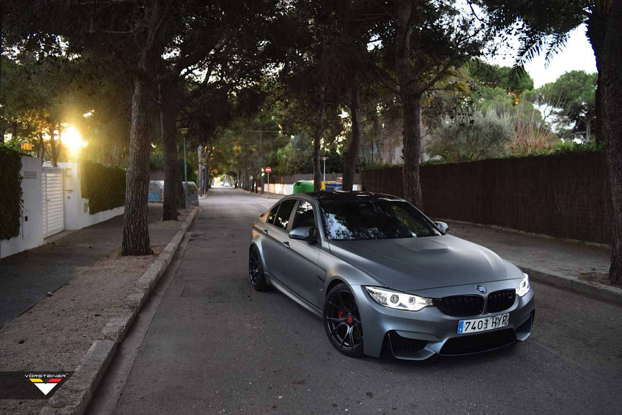 Bmw F80 M3 Sedan Vorsteiner Frozen Grey Bmw Bmw M3 M3 Sedan