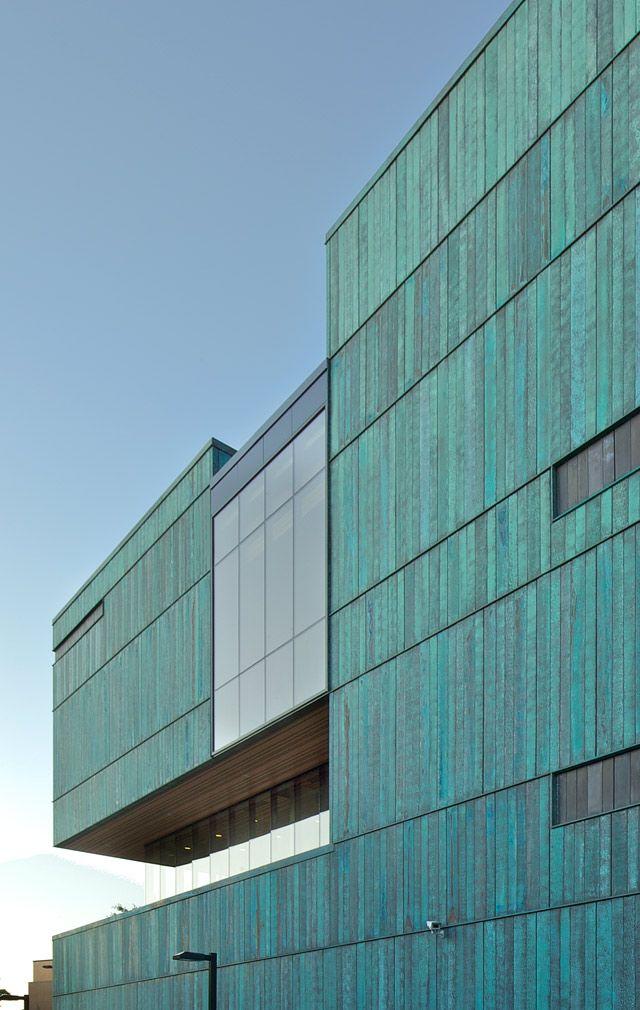 Zahner Custom Metal Panels University Of Toronto Exterior Detial Skin Pi