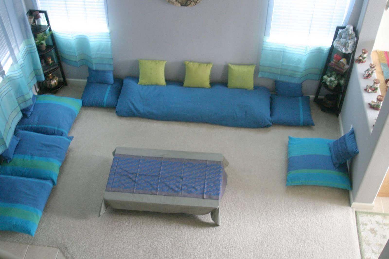 Diy Home Decoration Ideas Living Room 15 Awesome Easy Diy Home D Floor Seating Living Room Living Room Without Sofa Living Room Seating Ideas Without Sofa