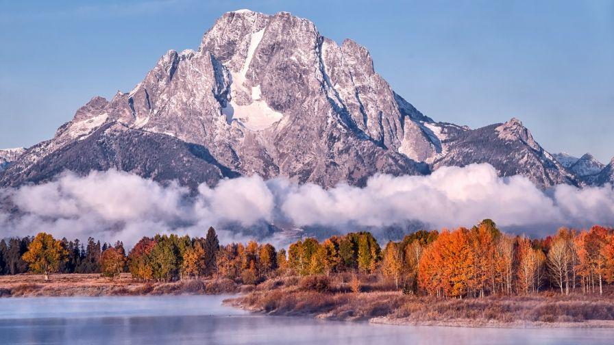 Lake Mountain Land Space Free Download Hd Wallpapers Lake Landscape Mountain Wallpaper Lake Mountain