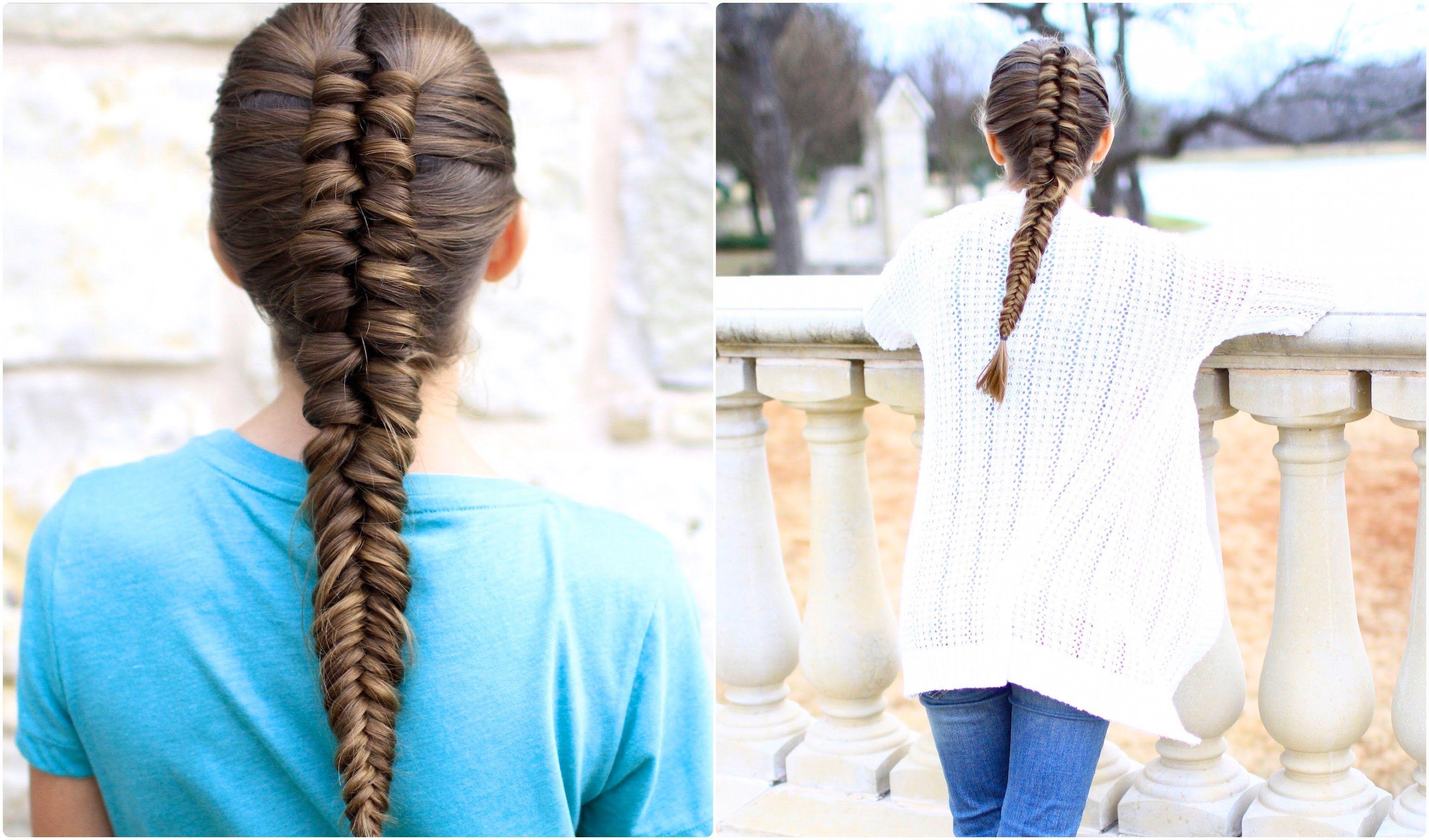 Infinity Braid Combo Cute Girls Hairstyles Cute Girls