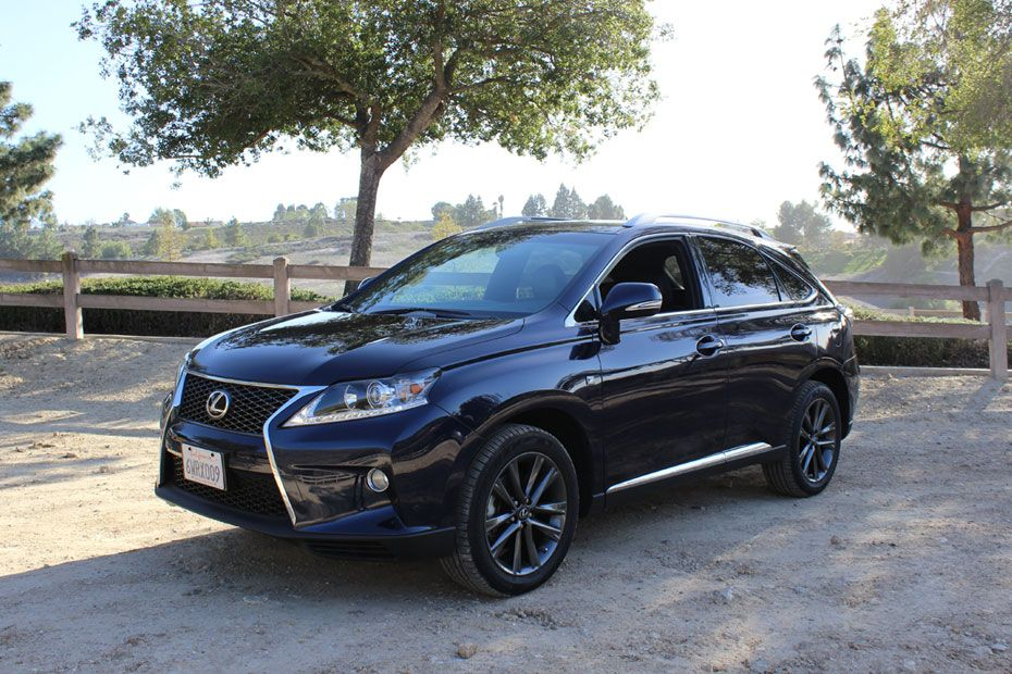 A Review of the Lexus RX 350 AWD F Sport I