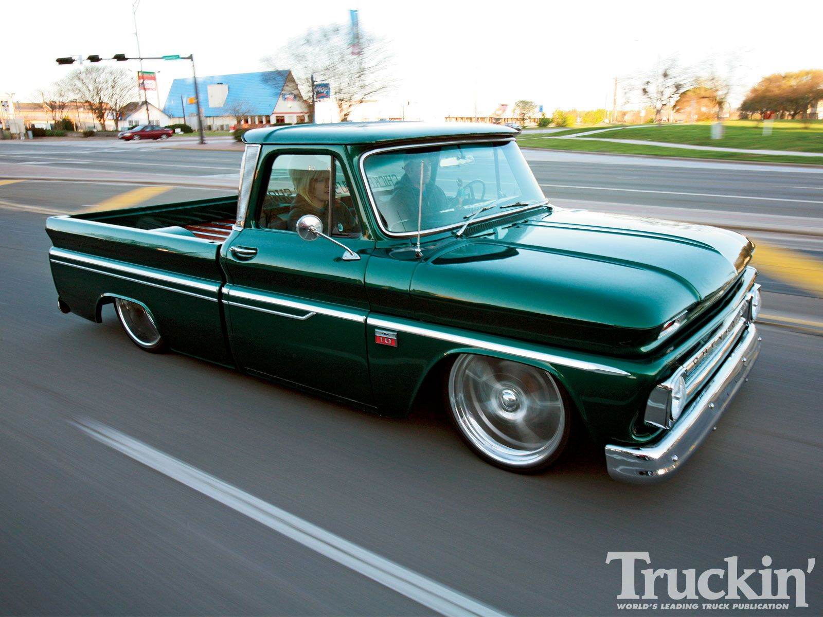 The top 5 coolest lifted and lowered classic chevy trucks to ever grace the pages of truckin magazine