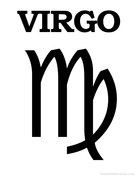 virgo astrological symbol