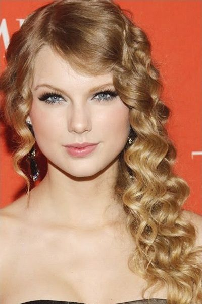Long Sexy Brunette Wavy Homecoming Hairstyle - Homecoming Hairstyles 2013