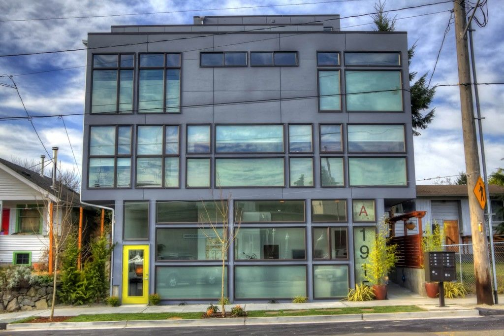 Http Www Seattlemodernlofts Com Live Work Loft Seattle Homes For Sale Modern Loft Live Work Lofts