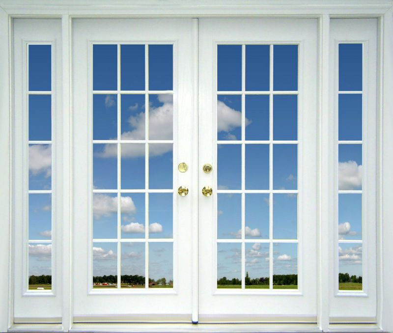 de madera de perfil de aluminio de la ventana corredera de