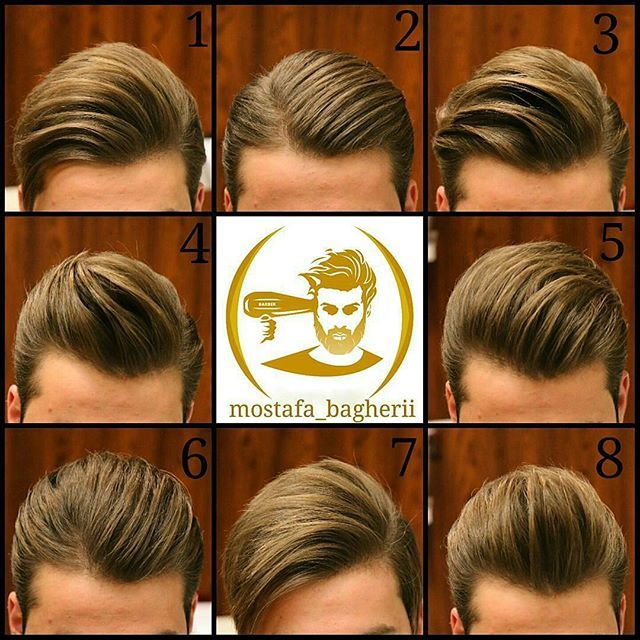 Mostafa Bagherii Menshairworld Hair Styles Pomade Hairstyle Men Mens Hairstyles