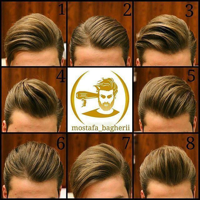 Mostafa Bagherii Menshairworld Hair Styles Mens Hairstyles Pomade Hairstyle Men
