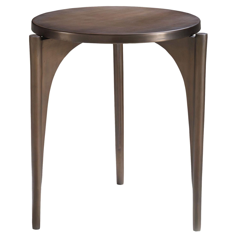 Brownstone Palisades Tripod Bronze End Table @Zinc_Door