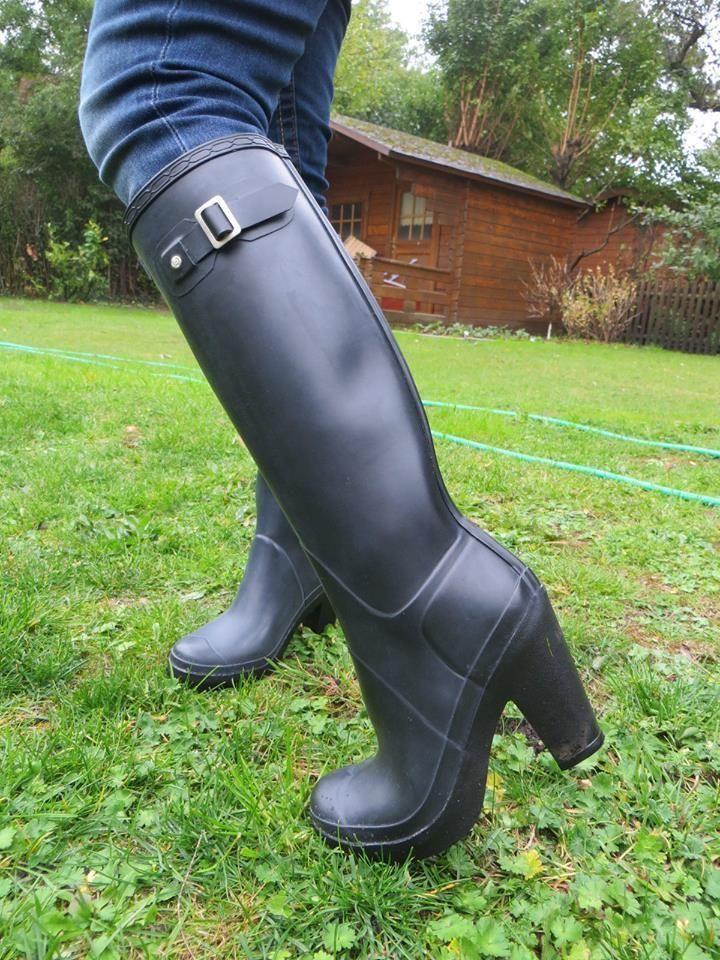 pin von csaba torok auf women high heels rain ruberr boots pinterest gummistiefel stiefel. Black Bedroom Furniture Sets. Home Design Ideas