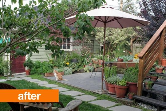 Great backyard makeover!