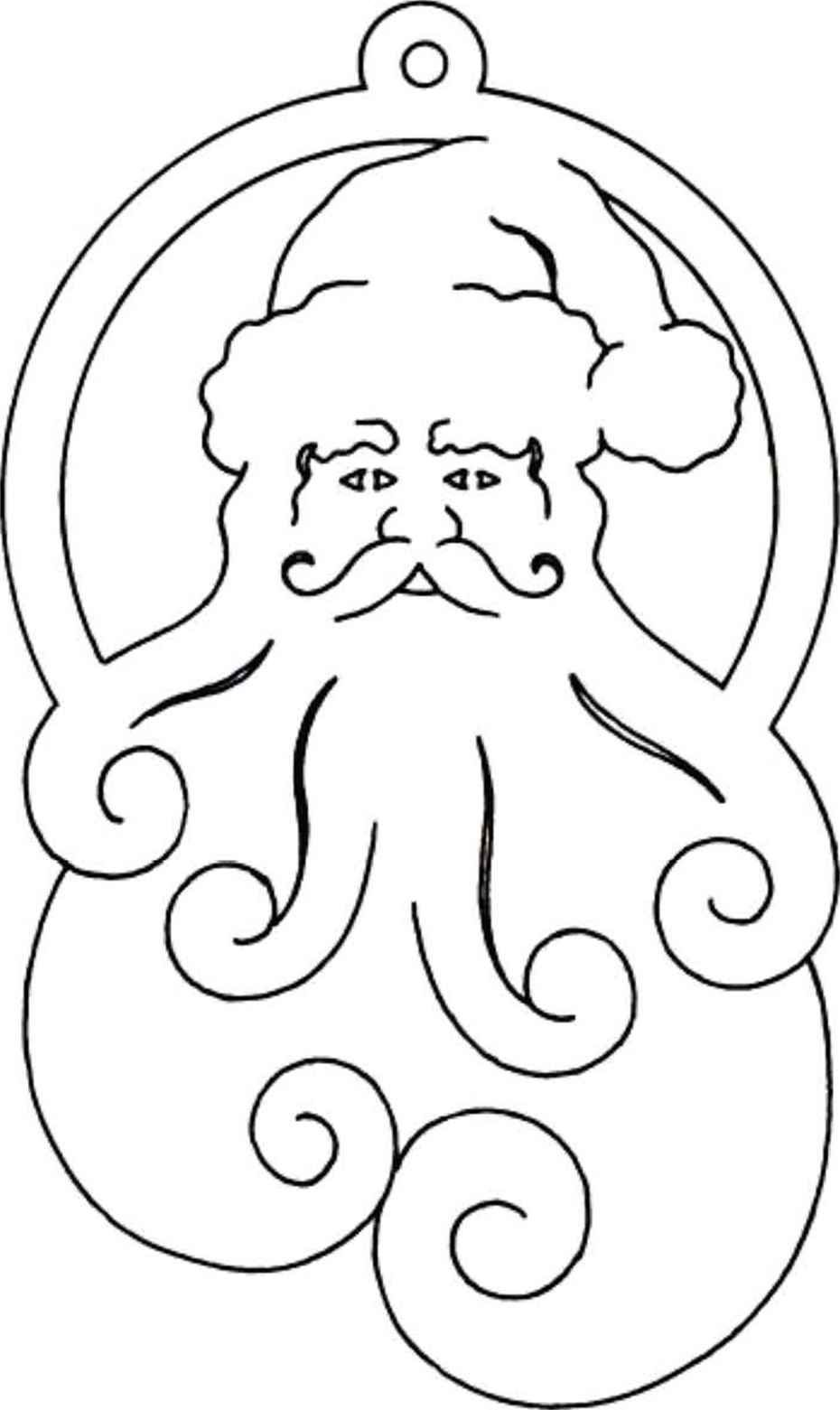 Scroll saw christmas ornament patterns bell ornaments scroll saw