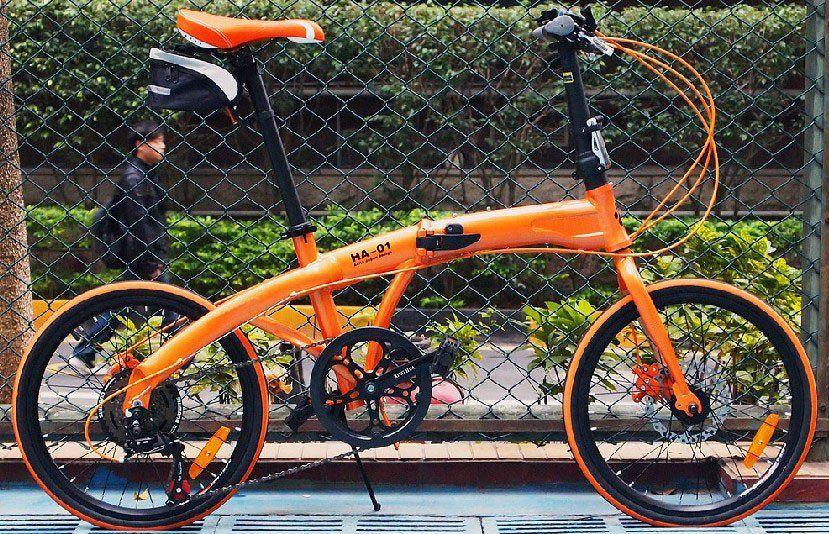 Hachiko 20 Folding Bike 7 Speed Top Quality Derailleu Folding