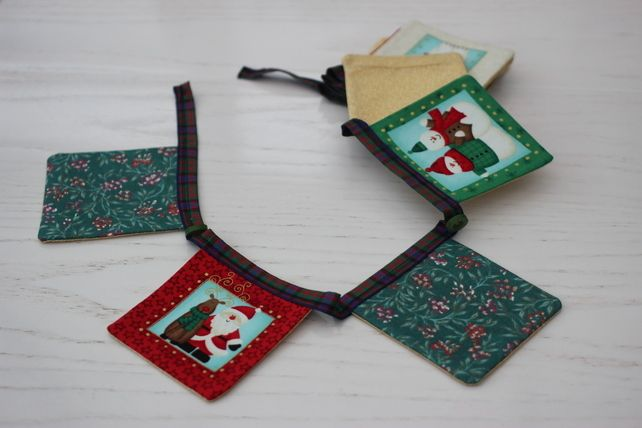 Luxury North Pole friends Bunting £10.00
