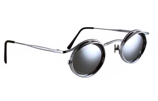 1fddf6faaa9 small oval metal frame sunglasses HI TEK HT-5090