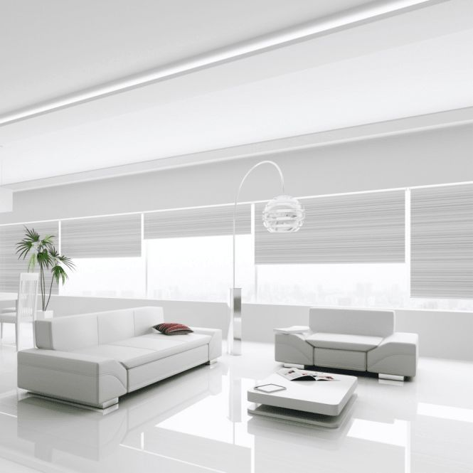 High Gloss MAX 8mm White Laminate Flooring (C500)