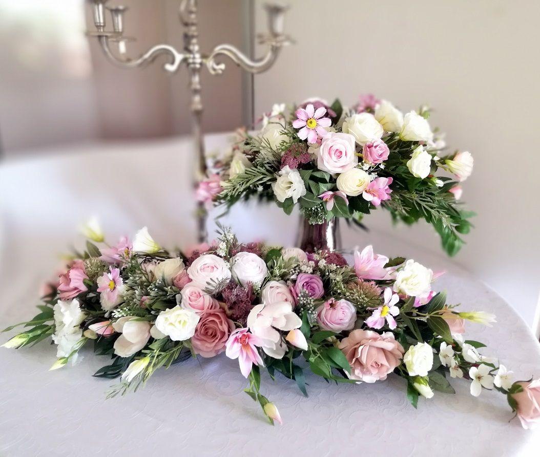 Stroik Na Stol Wiosenne Pastele Nr 211 Swiateczne Atelier Flower Arrangements Flowers Arrangement