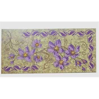Quadri per camera da letto stelo di fiori lilla il for Quadri decorativi arredamento