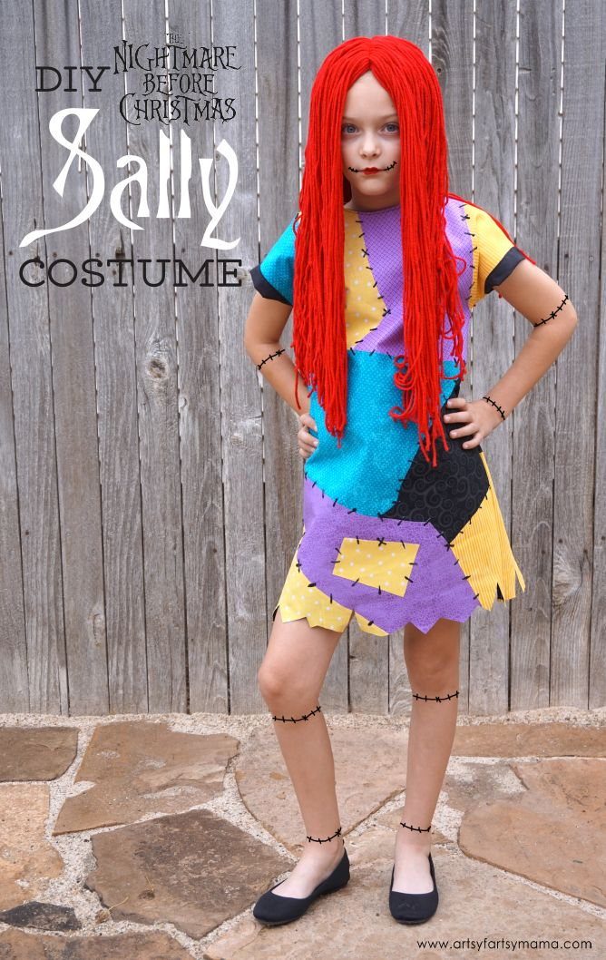 Diy Nightmare Before Christmas Sally Costume Halloween Costume