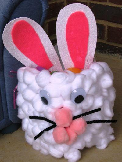 Easter basket craft basket crafts easter and easter baskets easter basket craft negle Choice Image