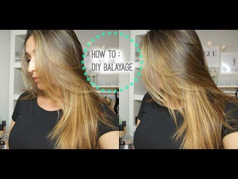 Great Video How To Diy Lighten Balayage Your Hair At Home