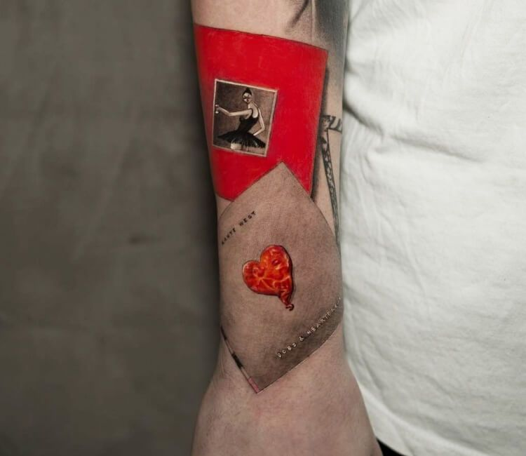 Kanye West Album Tattoo By Niki Norberg Post 28493 Arm Tattoos For Guys Kanye West Tattoo Kanye Tattoo