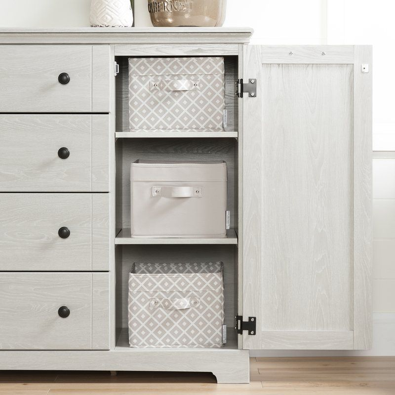 Avilla 4 Combo Dresser 4 Drawer Dresser Dresser Drawers Drawers