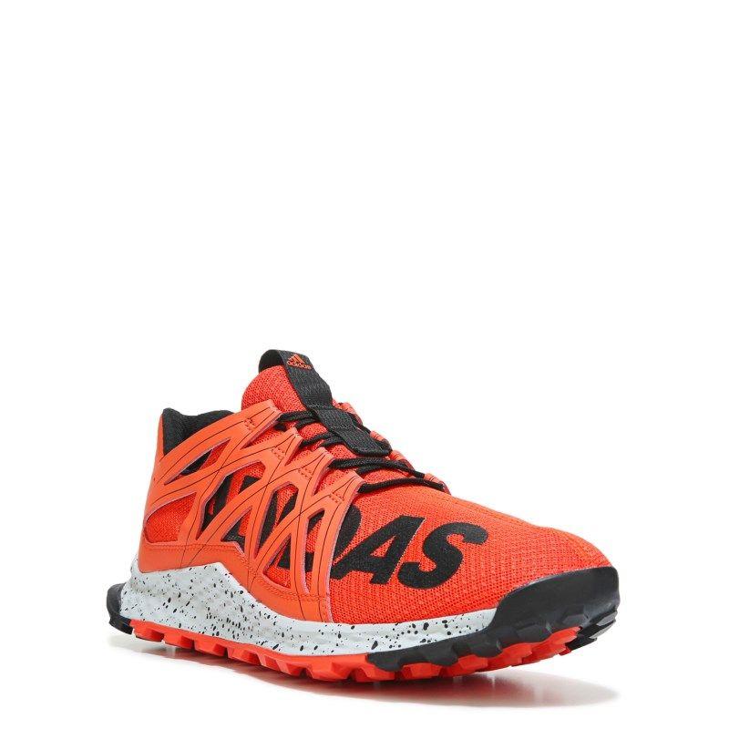 Adidas Men's Vigor Bounce Trail Running Shoes (Red/Black Print) - 11.0 M