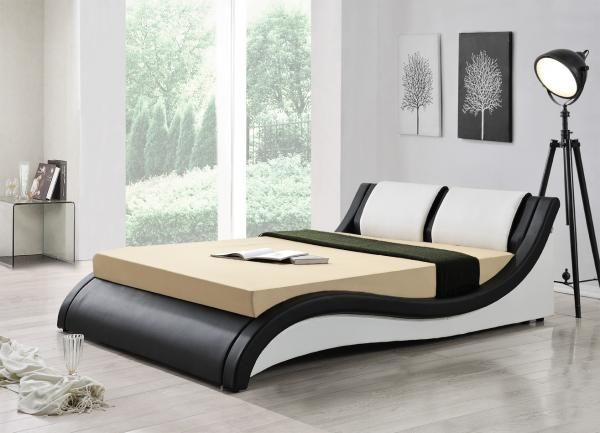 Beautiful Italian Designer Bed In Double and King Size With Add - schlafzimmer kaufen ebay