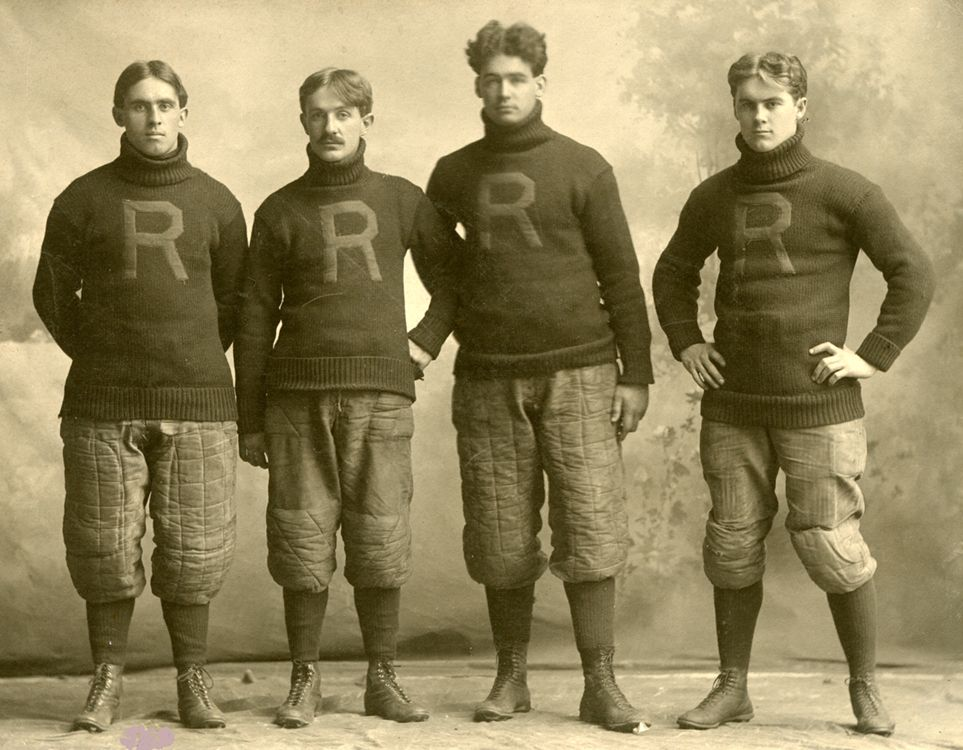 When Rush Fielded A Football Team Vintage Football Football Team Football Photography