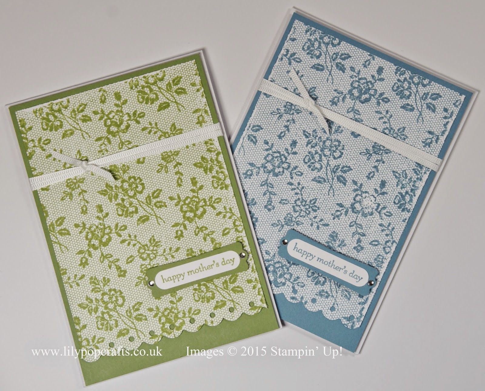 cards using lace background stamp - Google Search