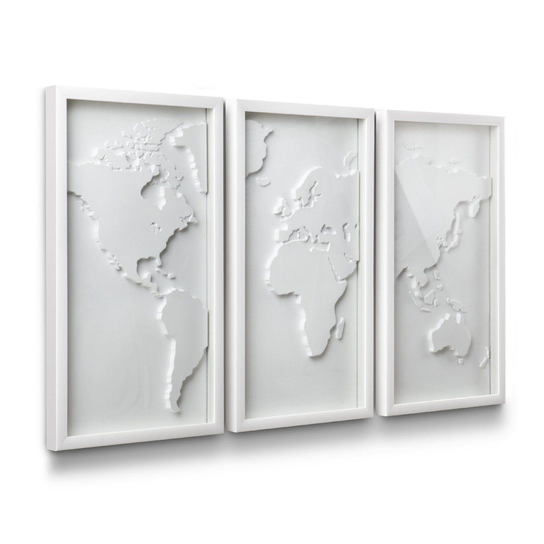 Amazon umbra mapster framed wall art set of home u kitchen