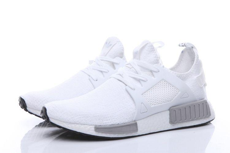 best website b9fc6 0dcd6 Adidas Men Originals NMD XR1 Shoes White Grey